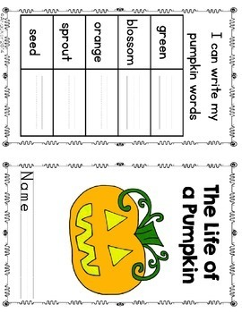 Life Cycle of a Pumpkin and Apple Unit