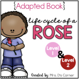 Life Cycle of a Rose Adapted Book [Level 1 and Level 2] Pl