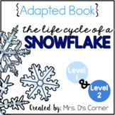Life Cycle of a Snowflake Adapted Books ( Level 1 and Level 2 ) Snowflake Cycle