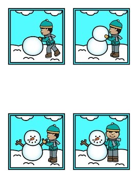Life Cycle of a Snowman