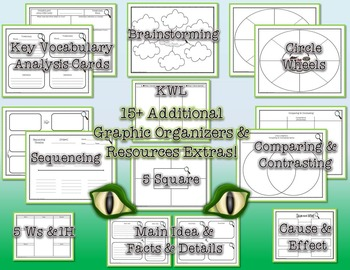 Life Cycle of an Alligator Tri-Folds and Graphic Organizers