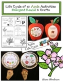 Life Cycle of an Apple Activities: Emergent Reader & Apple Crafts
