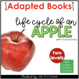 Life Cycle of an Apple Adapted Book [ Level 1 and 2 ] | Ap