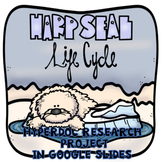 Life Cycle of the Harp Seal Research Project in Google  Slides™