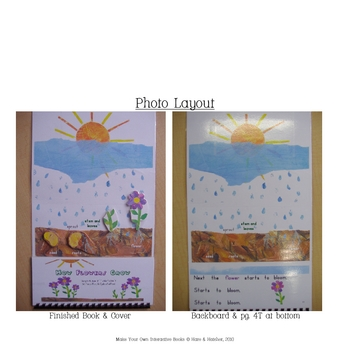 Life Cycle of the Plant Interactive Book, Printable in full color!