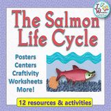 Life Cycles Salmon Life Cycle Unit with Craftivity