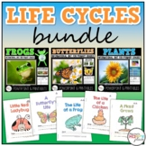 Life Cycles Bundle: Butterflies, Frogs, and Plants