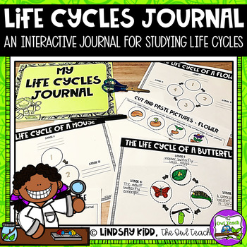 Life Cycles Unit:  Interactive Notebook Pages