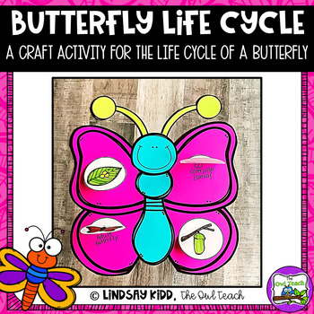 Life Cycles Unit:  Butterfly Life Cycle Craft