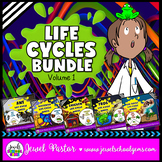 Animal Life Cycle Activities BUNDLE (Animal Life Cycle Crafts)