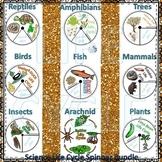Science Life Cycle Spinner Bundle #1