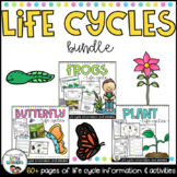 Life Cycles & Living Things Bundle - great for distance learning