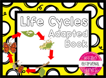 Life Cycles Adapted Book Bundle