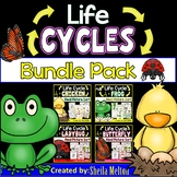 Life Cycles BUNDLE PACK (Butterfly, Frog, Chicken, Ladybug)