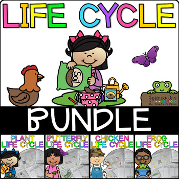 Life Cycle Bundle {4 Non-Fiction Thematic Units}
