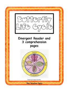 Life Cycles Bundle- Emergent Reader & Comprehension Sheets