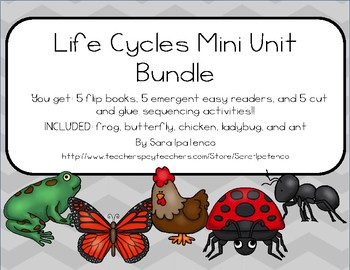 Life Cycles Bundle of Mini Units: SET 1