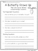 Life Cycles: CCSS Aligned Leveled Reading Passages & Activities Levels A-I