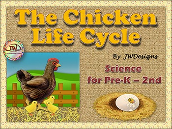 Life Cycles CHICKEN LIFE CYCLE Unit with Craftivity