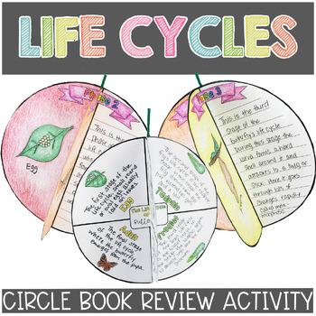 Life Cycles Circle Book Craftivity