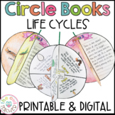 Life Cycles   Circle Book Craftivity   Printable & Digital   Google