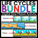 Life Cycles Digital STEM Activity Stop Motion Animation Projects
