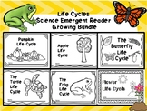 Life Cycles Emergent Reader Growing Bundle