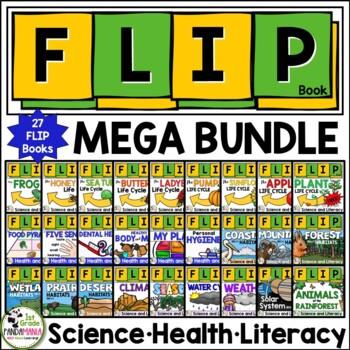Science FLIP Books Bundle Grades 1-2