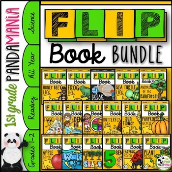 Science FLIP Books Bundle (1st and 2nd Grade Science)