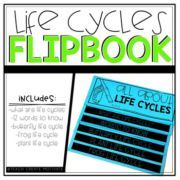 Life Cycles Flipbook