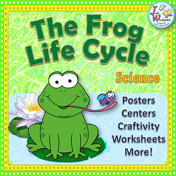 Life Cycle of the Frog - Mini Unit - Frog Craftivity