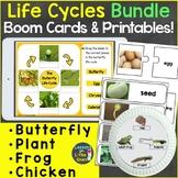 Life Cycles Growing Bundle Digital Boom Cards & Printable