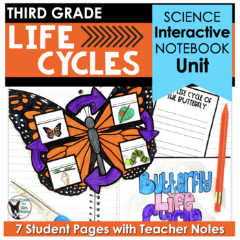 Life Cycles- Interactive Notebook Pages