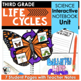 Life Cycles Interactive Notebook Pages