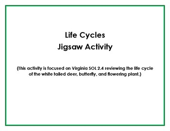 Life Cycles Jigsaw