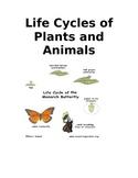 Life Cycles Lap Folder