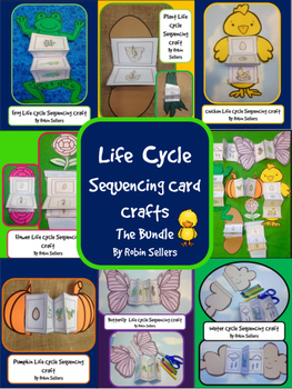Life Cycles* {Life Cycle Sequencing Card Craft Bundle - Spring Life Cycles}