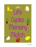 Life Cycles Memory Match