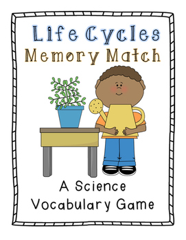 Life Cycles Memory Match: A Science Vocabulary Game