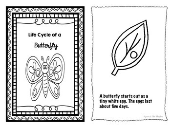 Life Cycles Mini Books