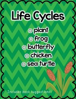 Life Cycles Mini Pack