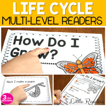 Life Cycle Readers  (Multi-Level Books)