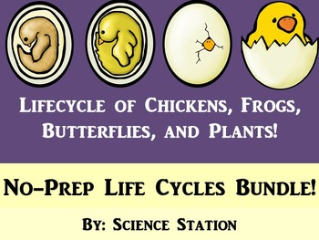 Life Cycles PowerPoints Bundle