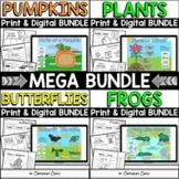 Life Cycles Print & Digital Activities MEGA BUNDLE