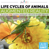 Life Cycle of Animals | Augmented Reality Fliphunt