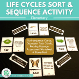 Life Cycles Sort & Cycle Activity