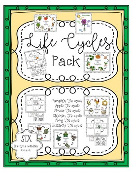 Life Cycles Bundle ~ SIX Life cycles included