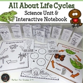 Life Cycles Unit 8 Animals and Plants All About Life Cycle Science Unit