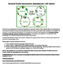Life Cycles Unit Project, Planning Sheet, and Rubric