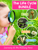 Life Cycles Activities & Lessons Bundle for Pre-K, Kindergarten, or 1st Grade